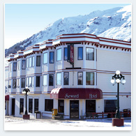 Seward Hotel in Winter